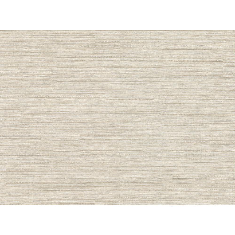 8 in. x 10 in. Tyrell Beige Faux Grasscloth Wallpaper Sample
