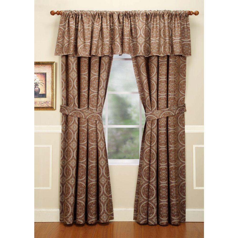 Home Fashions International Cartier DulceDeLeche 84 in. Panel-DISCONTINUED