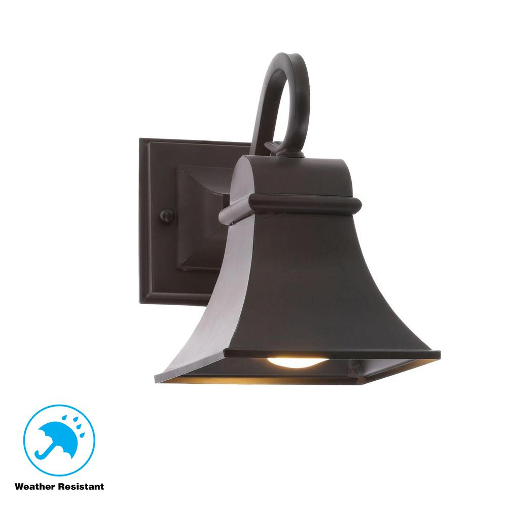 World Imports Dark Sky Revere Collection Wall-Mount Outdoor Flemish Lantern