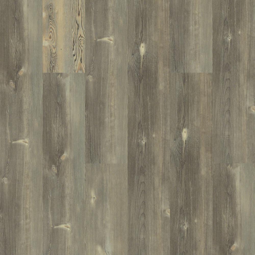 Take Home Sample - Pinebrooke Gazebo Click Resilient Vinyl Plank Flooring - 5 in. x 7 in.