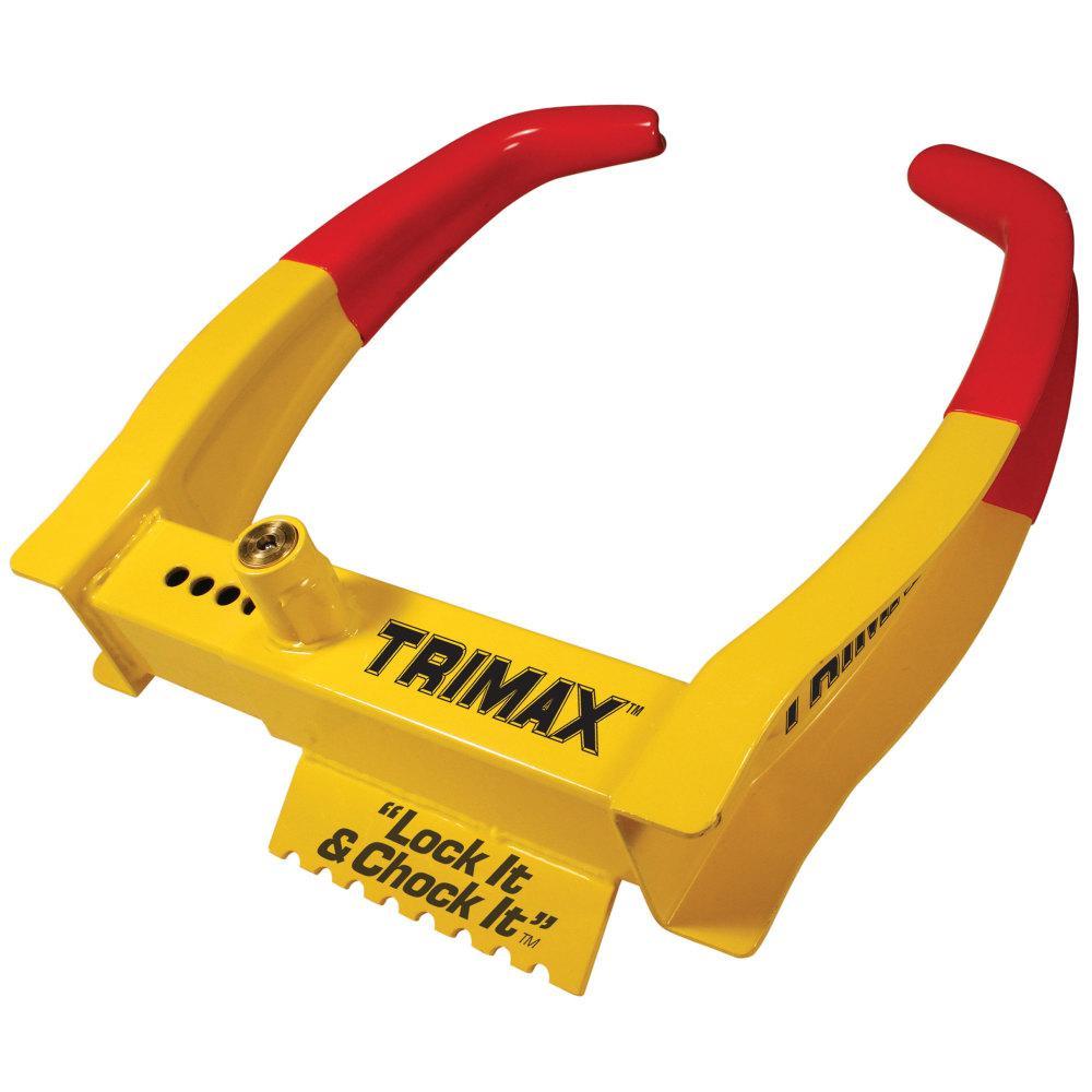 Trimax 7.25 in. Wheel Chock Lock Reach