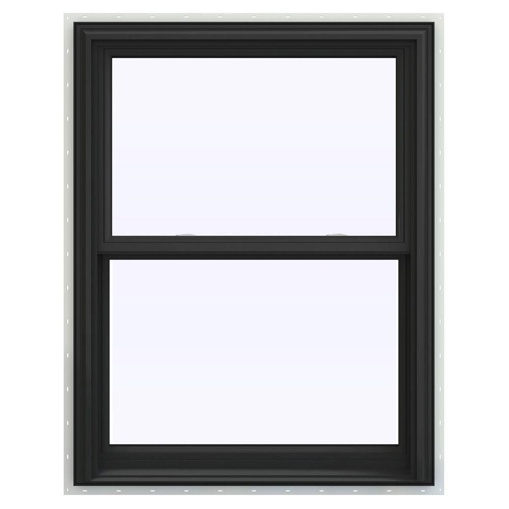 Jeld wen 31 5 in x 35 5 in v 2500 series double hung for Best double hung windows reviews