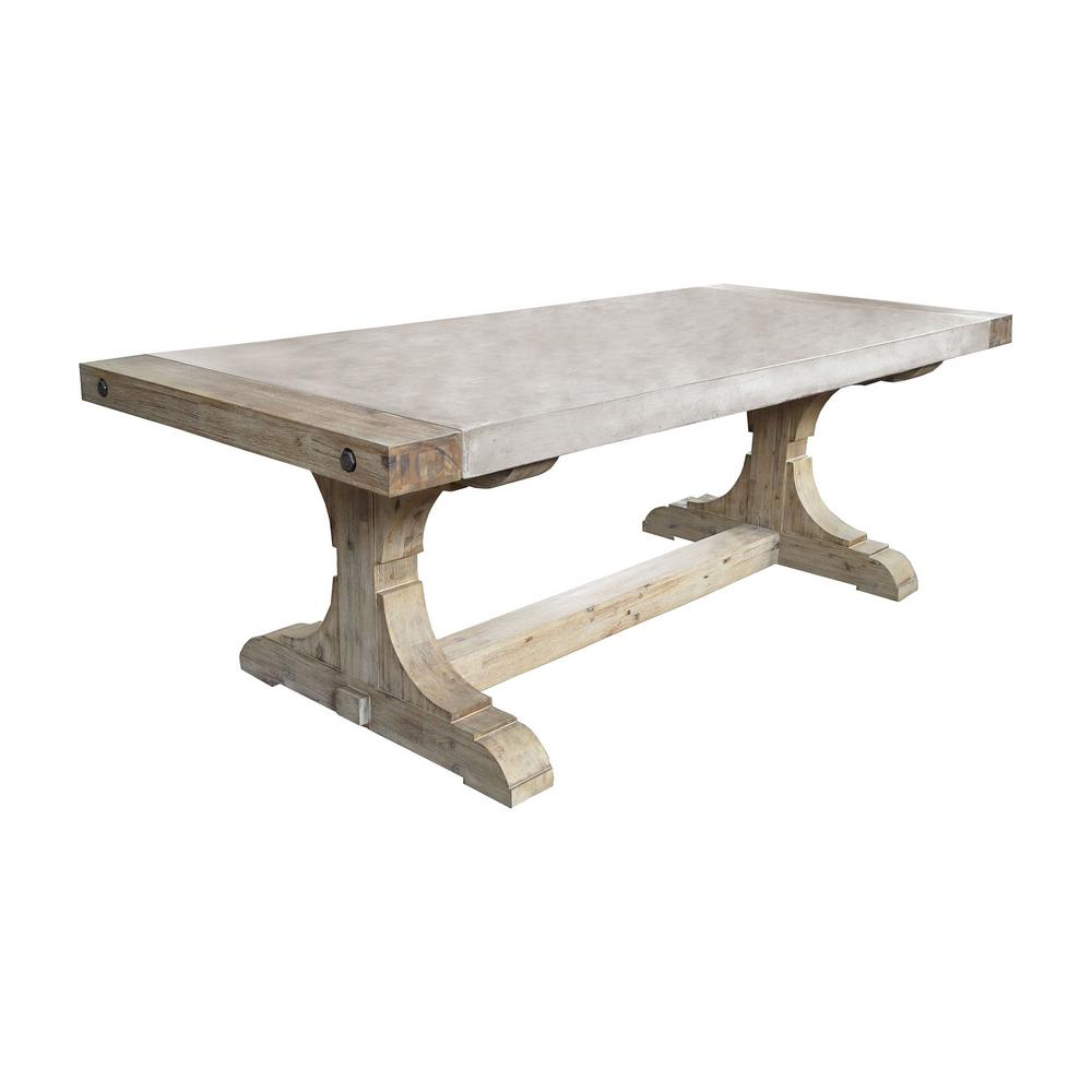 Titan Lighting Pirate Waxed Atlantic Dining Table Tn