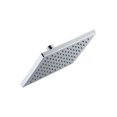 Modern 1-Spray 8 in. Square Raincan Fixed Showerhead in Chrome