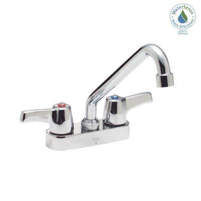 Commercial 4 in. Centerset 2-Handle Bathroom Faucet in Chrome
