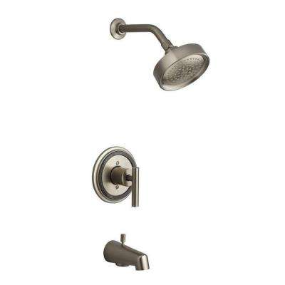Taboret 1-Handle Tub and Shower Faucet Trim Only in Vibrant Brushed Nickel