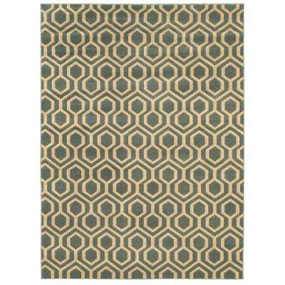 Langley Geo Slate 9 ft. 6 in. x 12 ft. 2 in. Area Rug