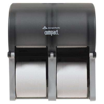 Compact Vertical 4-Roll Toilet Tissue Dispenser