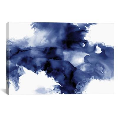 """Derive In Indigo I"" by Daniela Hudson Canvas Wall Art"