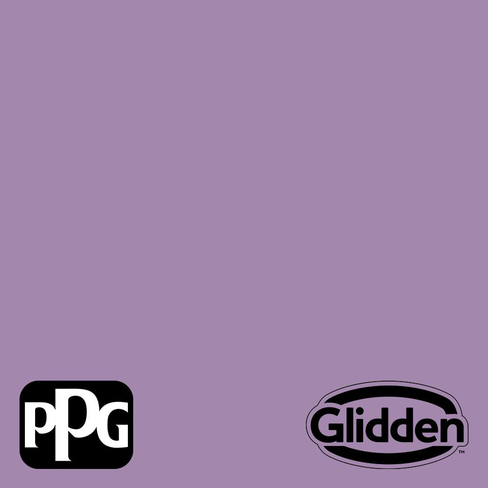 Glidden Premium 5 Gal Ppg1176 5 Violet Eclipse Satin Exterior Latex Paint Ppg1176 5px 5sa The Home Depot