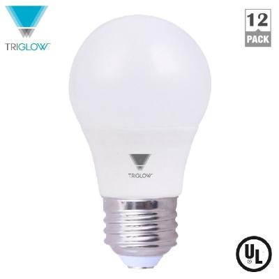 TriGlow 6.5-Watt A15 LED Appliance Light Bulb Soft White (12-Pack)