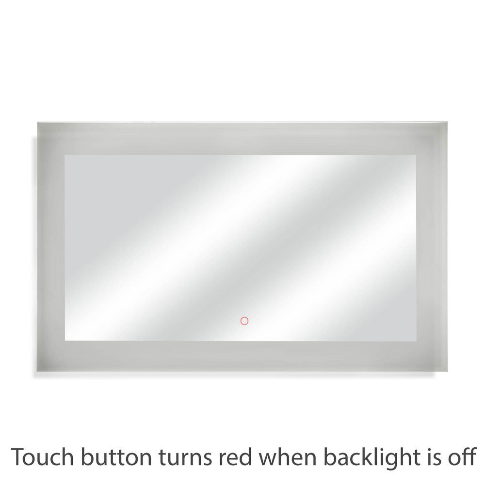 60 in. W x 35 in. H LED Wall Mounted Backlit