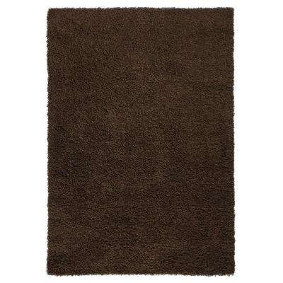 Bella Collection Brown 3 ft. 3 in. x 4 ft. 8 in. Area Rug