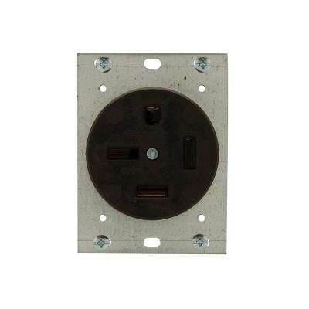 50 Amp 250-Volt 15-50 3-Pole/4-Wire Power Receptacle