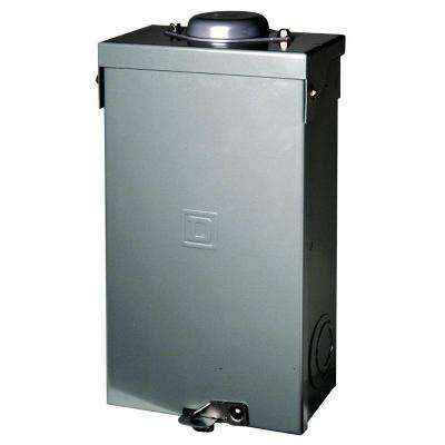 QO 100 Amp 2-Pole Outdoor Circuit Breaker Enclosure
