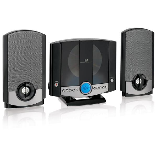 Vertical Home Music System with AM/FM CD