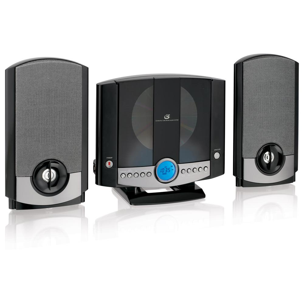 Gpx Vertical Home Music System with AM/FM CD