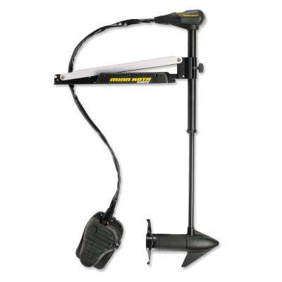 45 in. 45 lbs. 12-Volt Edge Trolling Motor with Foot Control and Latch Door