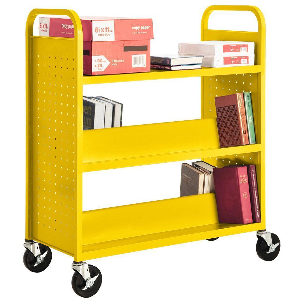Sunshine Mobile Steel Bookcase