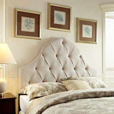 Tan Full/Queen Headboard