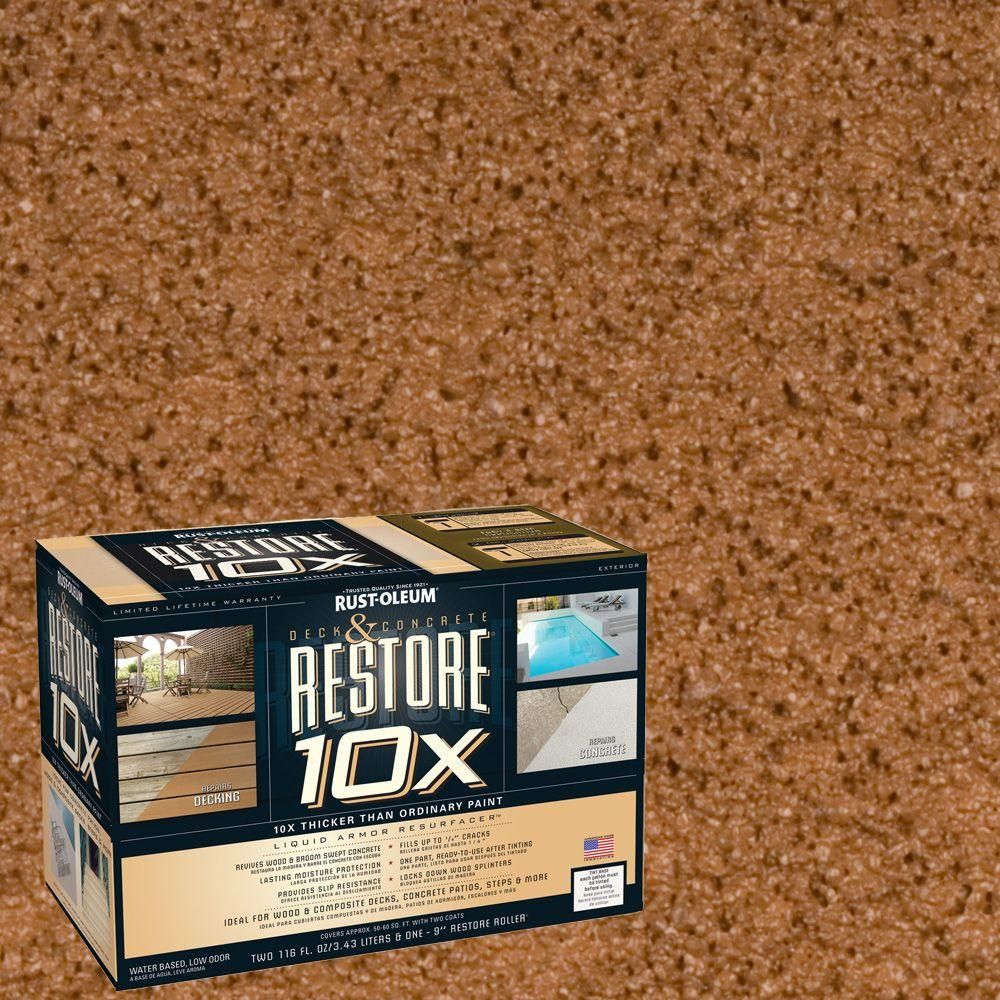 Rust-Oleum Restore 2-gal. Timberline Deck and Concrete 10X Resurfacer