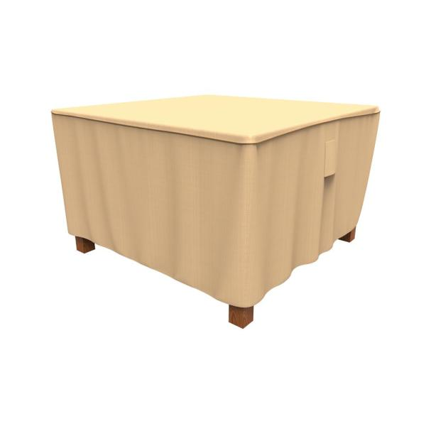 Rust-Oleum NeverWet Savanna Medium Tan Square Patio Table Cover