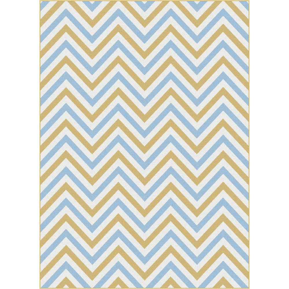 Tayse Rugs Metro Multi 7 ft. 10 in. x 10 ft. 3 in. Contemporary Area Rug