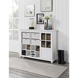 Altra Furniture Reese Park White Chest-7658096 - The Home Depot