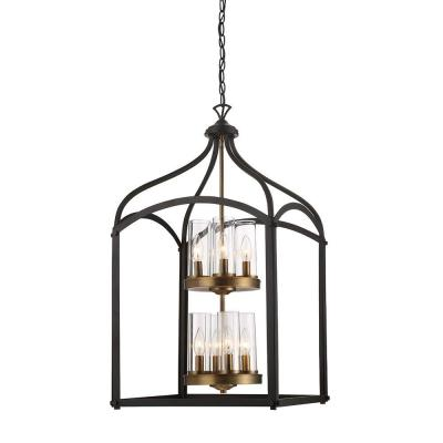 Avondale 8-Light Oil-Rubbed Bronze Foyer Pendant