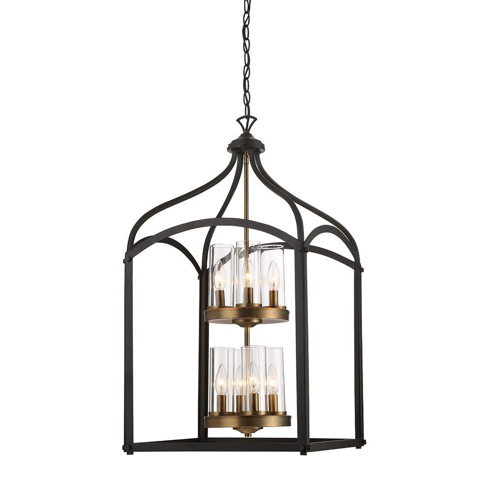Foyer Pendant Lighting Bronze : Designers fountain avondale light oil rubbed bronze