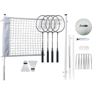Professional Volleyball Badminton Combo Set