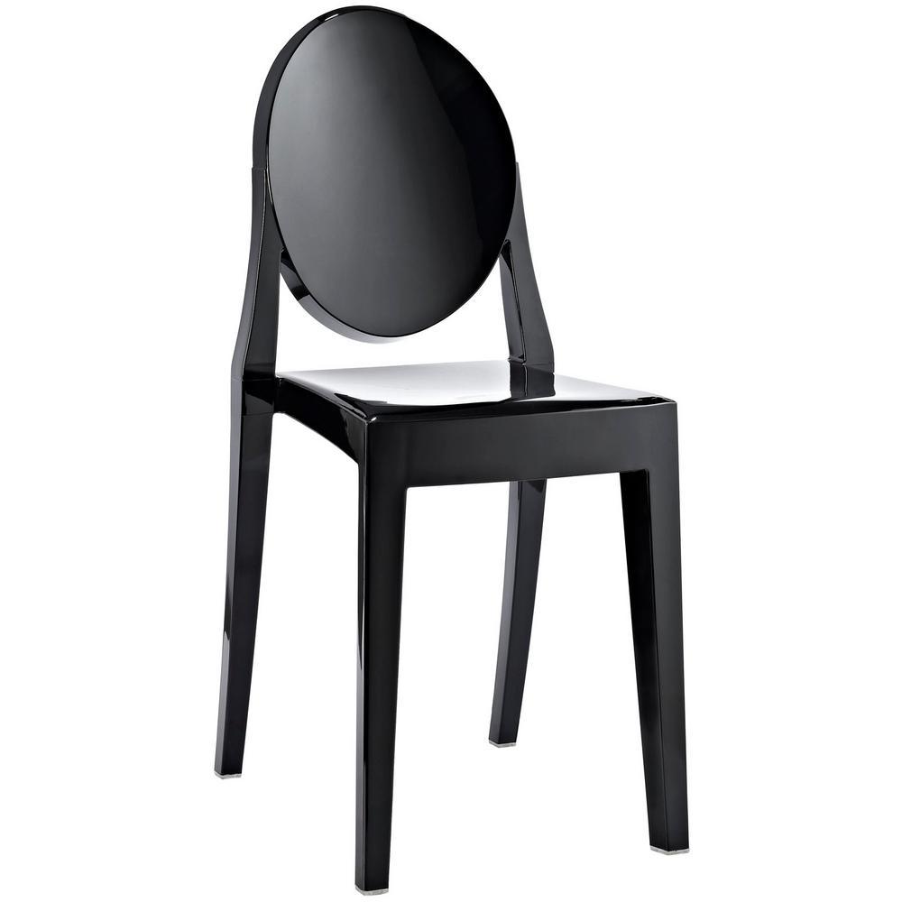 MODWAY Casper Black Dining Side Chair