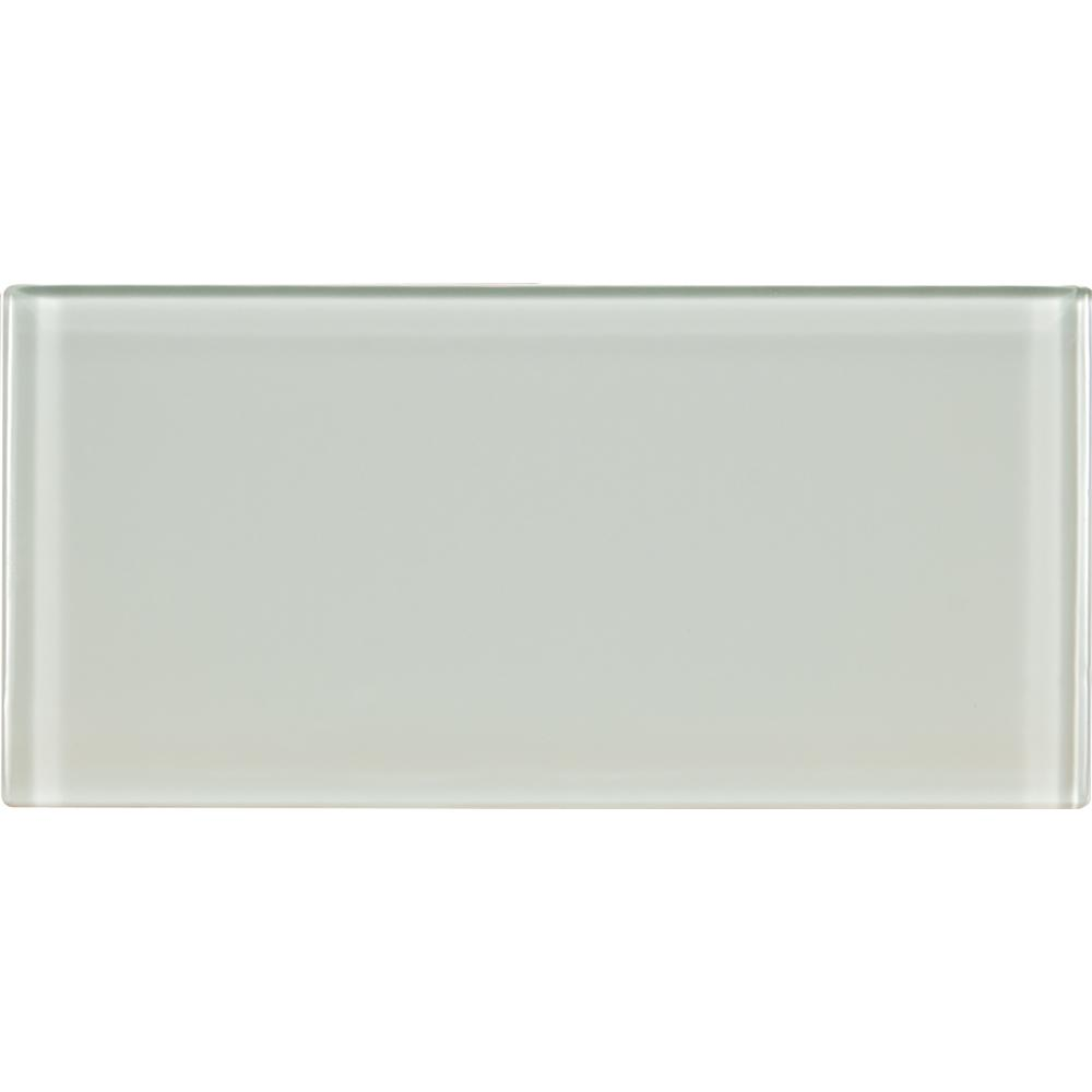 Arctic Ice 3 in. x 6 in. Glass Wall Tile (1