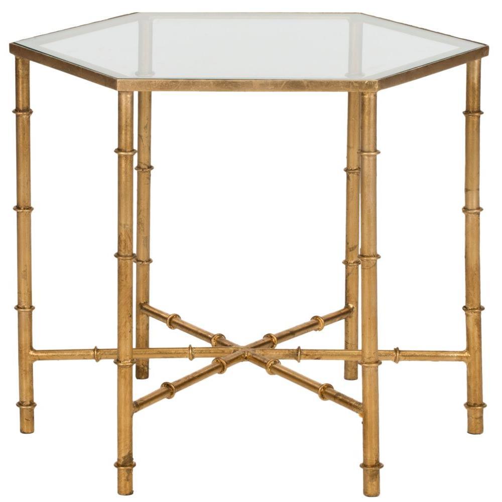 Safavieh Kerri Gold End Table by Safavieh