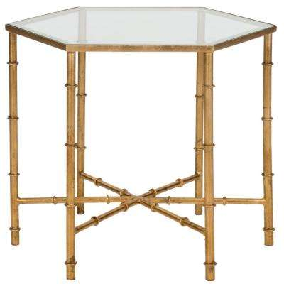 Kerri Gold End Table
