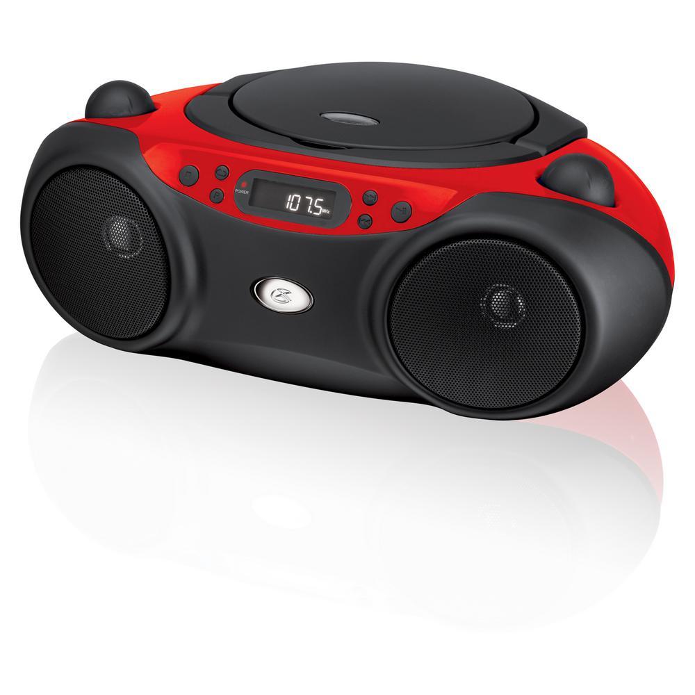 AM/FM CD Boom Box