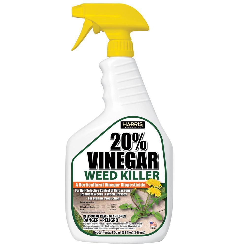32 oz. 20% Vinegar Weed Killer