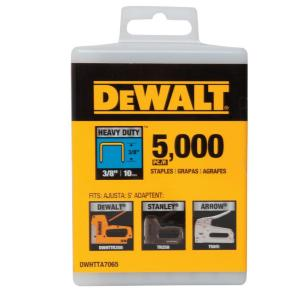 3/8 in. Heavy Duty Staples (5000-Pack)