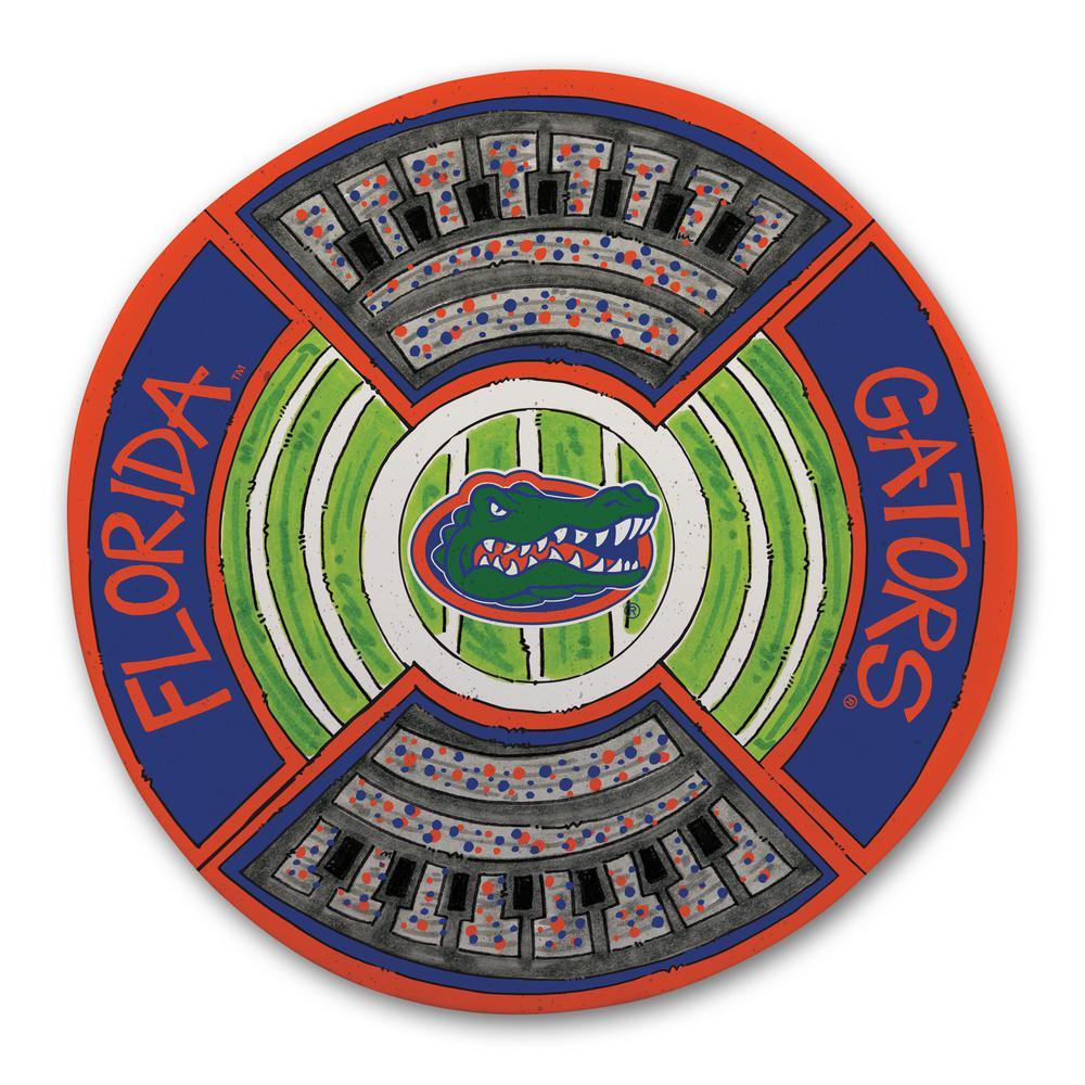 Florida Football Stadium Melamine Platter