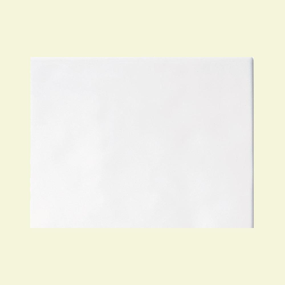 Daltile Polaris Gloss White 6 in. x 8 in. Glazed Ceramic Wall Tile (11 sq. ft. / case)