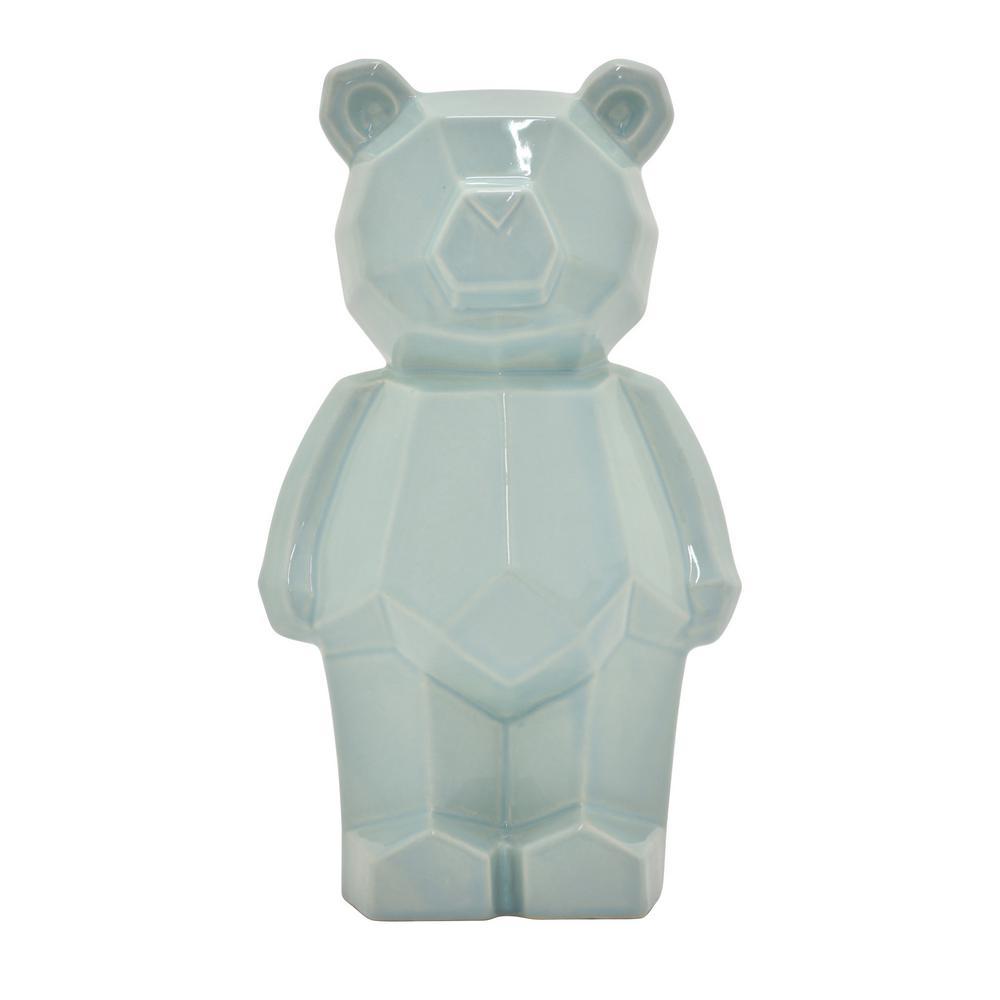 9 in. Teddy Bear Money Bank