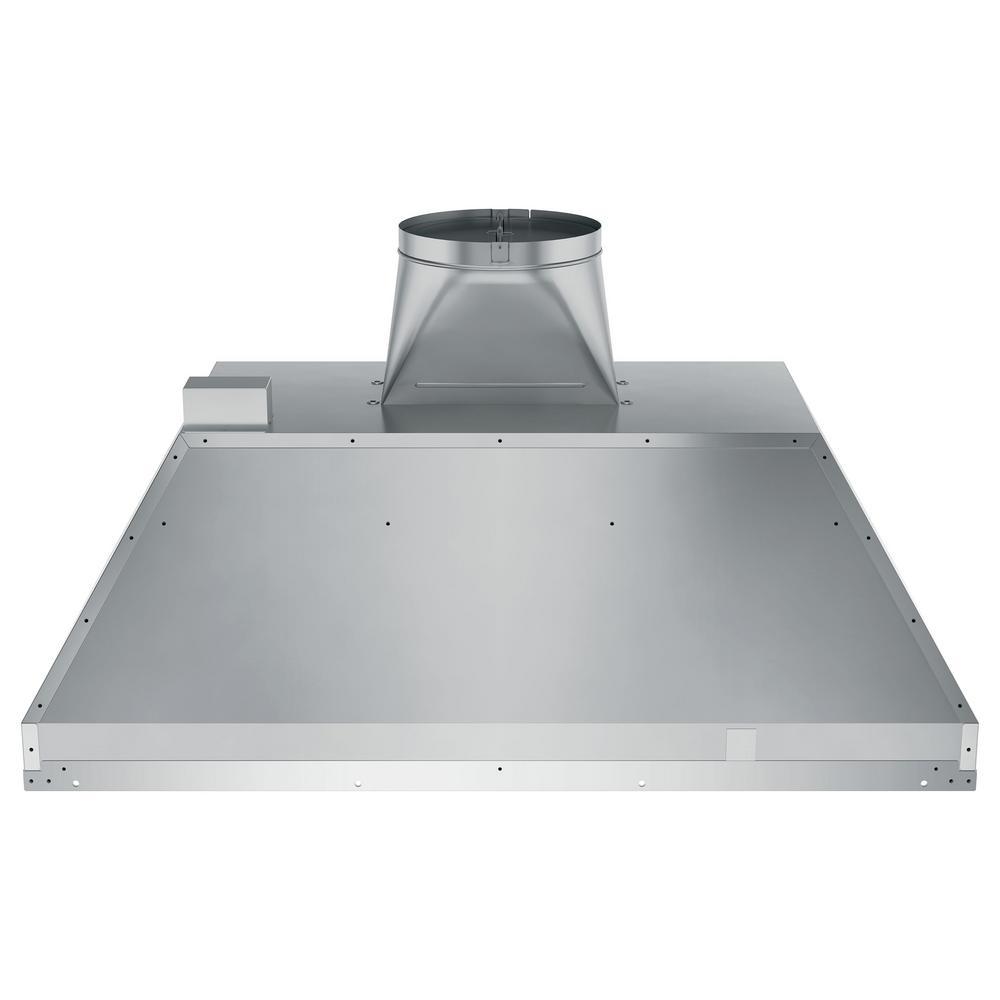 36 in. Smart Insert Range Hood with Light in Stainless Steel