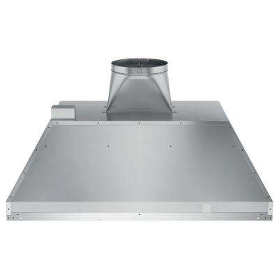 36 in. Insert Range Hood with Light in Stainless Steel