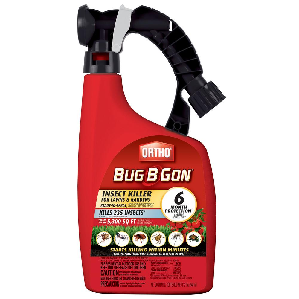ortho bug b gon max 32 oz ready to spray insect killer spray