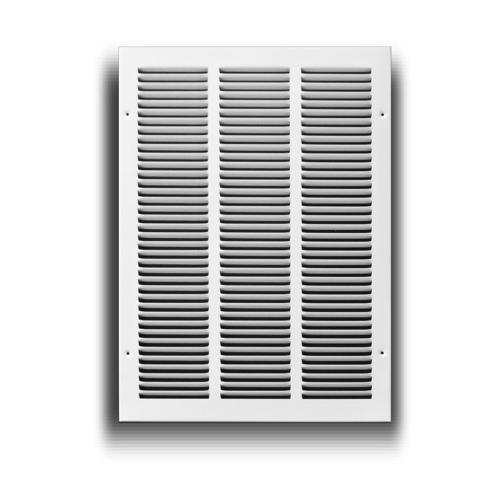 TruAire 14 in  x 20 in  White Return Air Grille