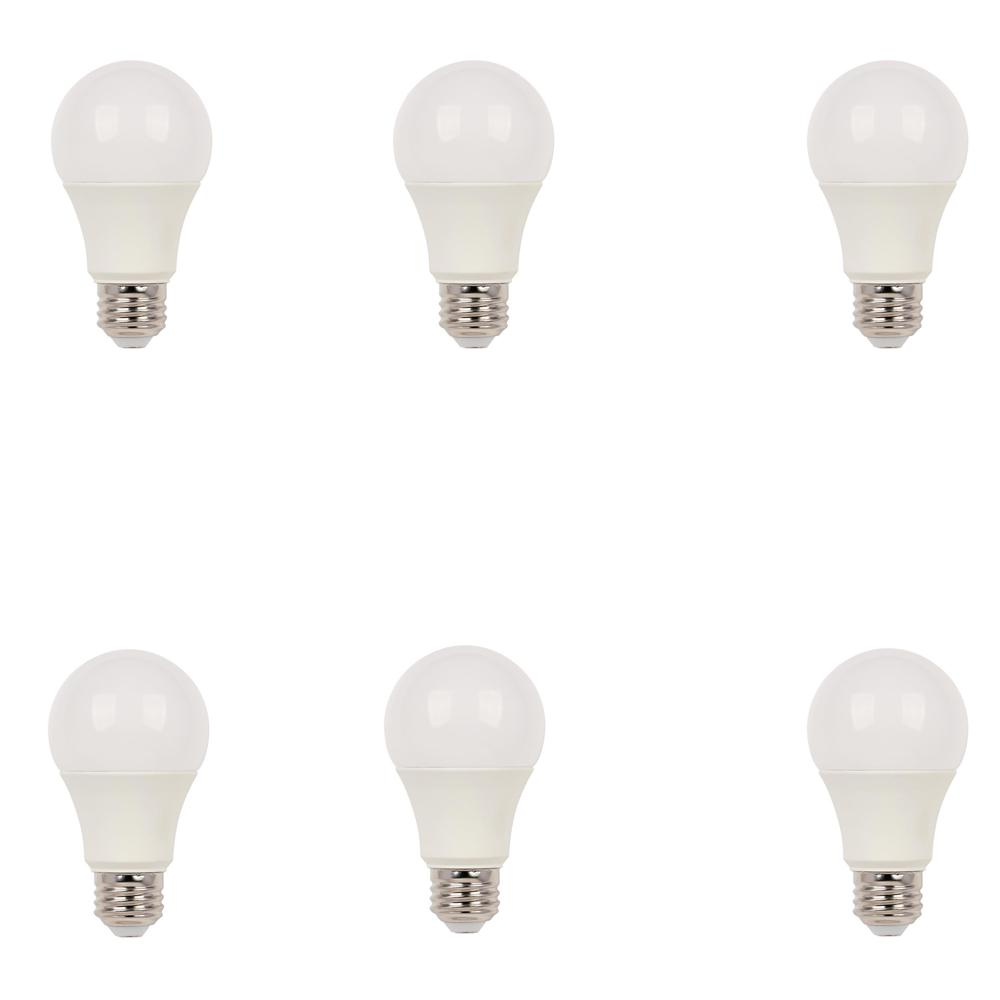 new FEIT ELECTRIC 6 Pack 2700 Soft White LED Dimmable Bulbs 800 Lumens 60w