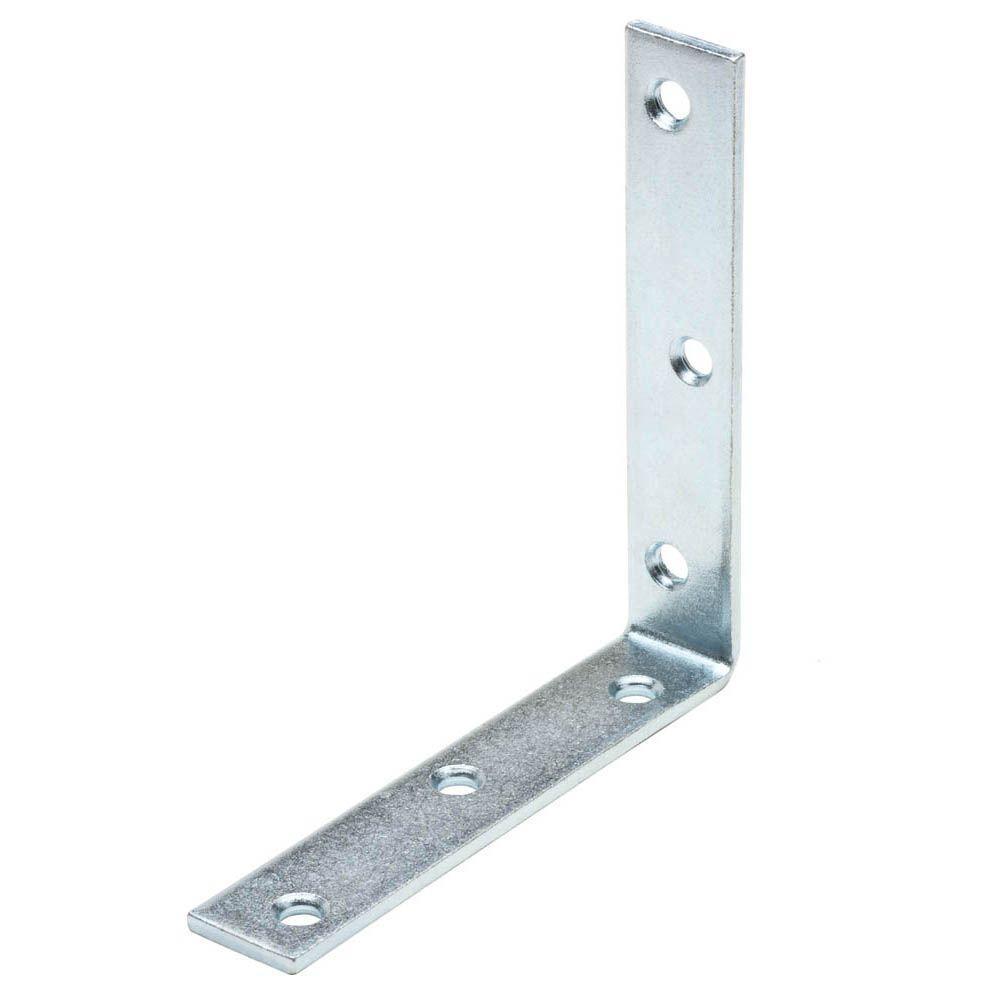 Everbilt 8 in. Zinc-Plated Corner Brace