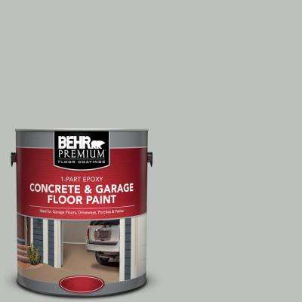 1 gal. #PFC-62 Pacific Fog 1-Part Epoxy Concrete and Garage Floor Paint
