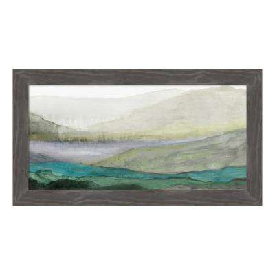 """Valley II"" by Tom Reeves Framed Canvas Wall Art"