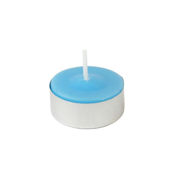 1.5 in. Turquoise Citronella Tealight Candles (100-Box)